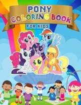 PONY Coloring Book For Kids