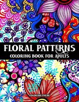 Floral Patterns Coloring Book for Adults