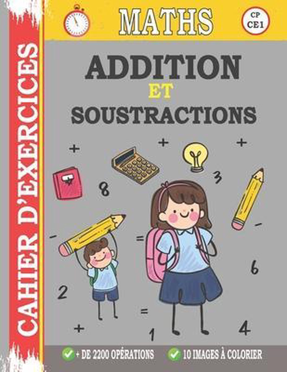 Bol Com Addition Et Soustraction Cahier D Exercices 9798644693313 Atifay Edition Boeken