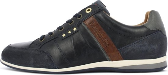Pantofola d'Oro Roma Uomo Lage Donker Blauwe Heren Sneaker 46