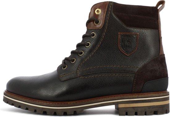 Pantofola d'Oro Ponzano Uomo Hoge Donker Bruine Heren Boots 40