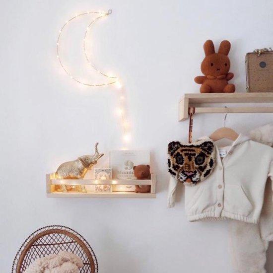Life Fashion Babylamp - 30cm - 40 LED's - Goud - Warm Wit