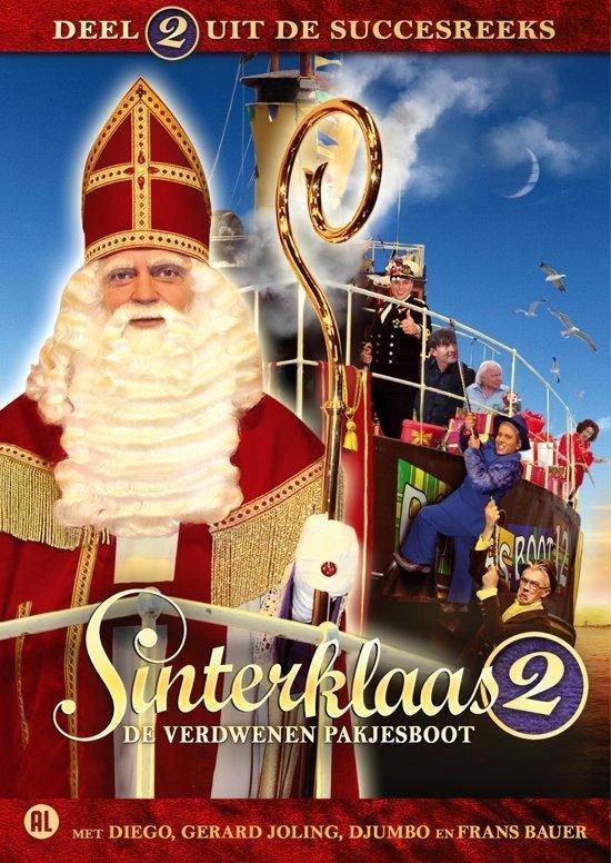 Cover van de film 'Sinterklaas En De Verdwenen Pakjesboot'