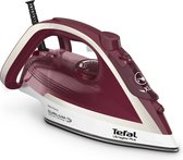 Tefal Ultragliss Plus FV6810 - Stoomstrijkijzer - Bordeaux Rood | Zilver