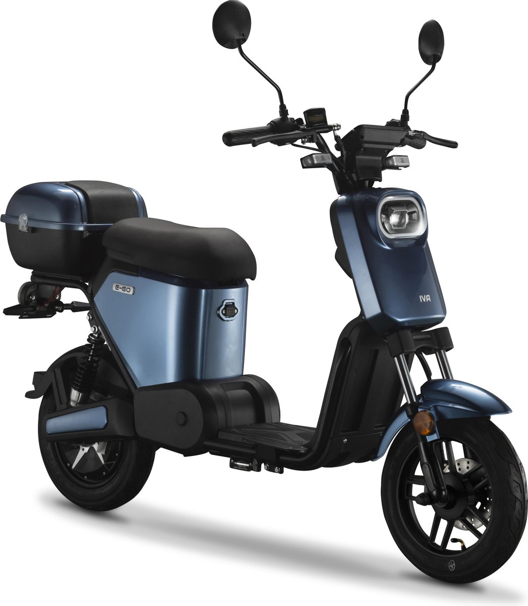 IVA E-GO S2 Elektrische Scooter Blauw