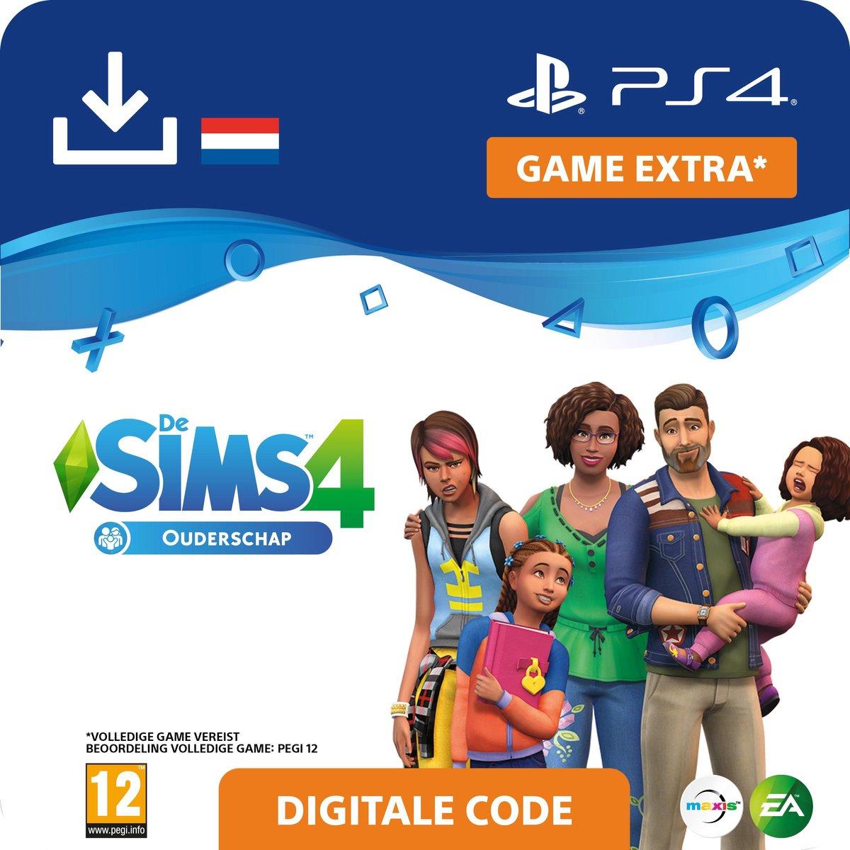De Sims 4 - uitbreidingsset - Ouderschap - NL - PS4 download