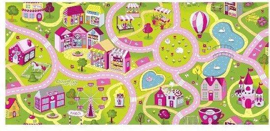 Afbeelding van Kindervloerkleed SWEET TOWN - 140x140 speelgoed