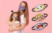 BEE SEEN   Mondmasker voor kinderen   Kitten   mondkapjes   wasbaar en herbruikbaar