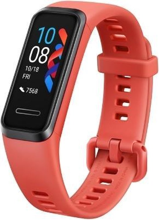 Huawei Band 4 - Activity tracker - Rood
