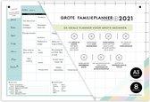 Grote FamiliePlanner 2021 - A3 - muurkalender voor 8 personen