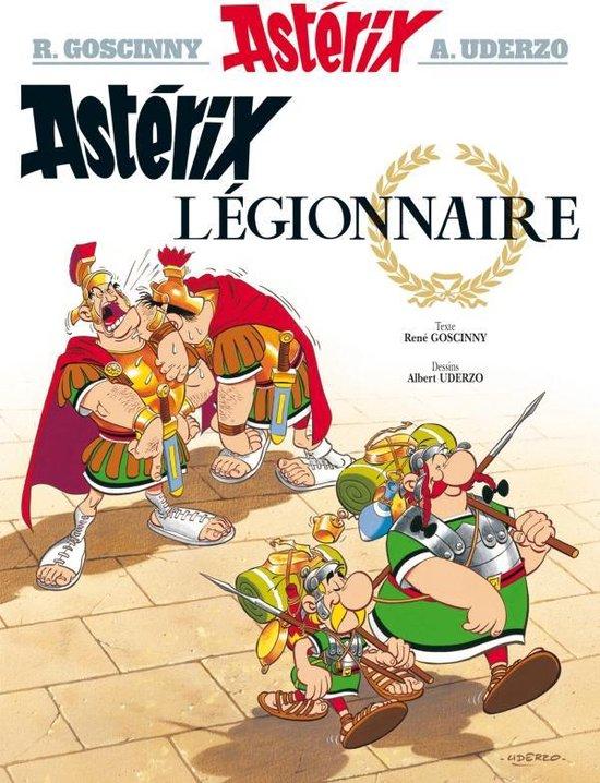 Boek cover Asterix legionnaire van Rene Goscinny