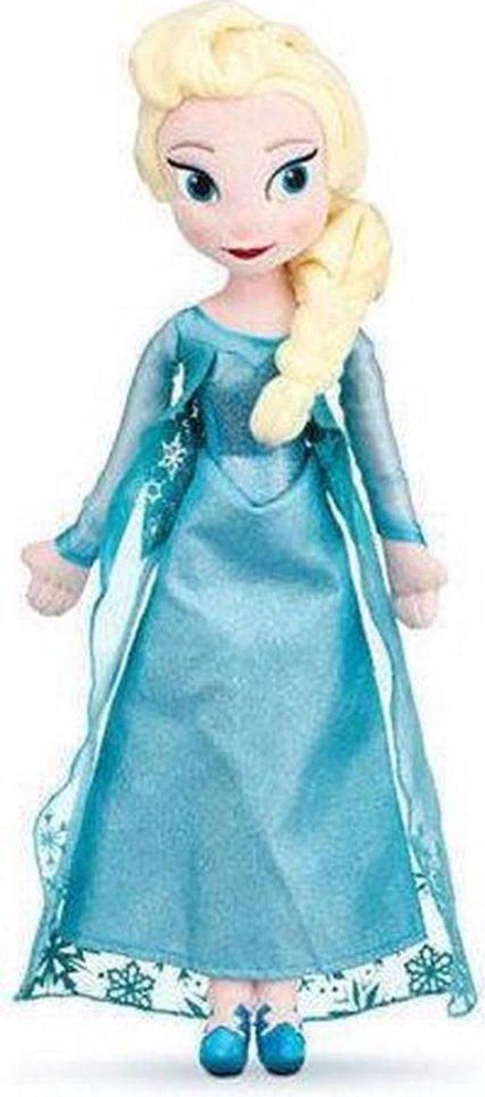 Disney Frozen knuffel Elsa - 40 cm Grote Knuffel