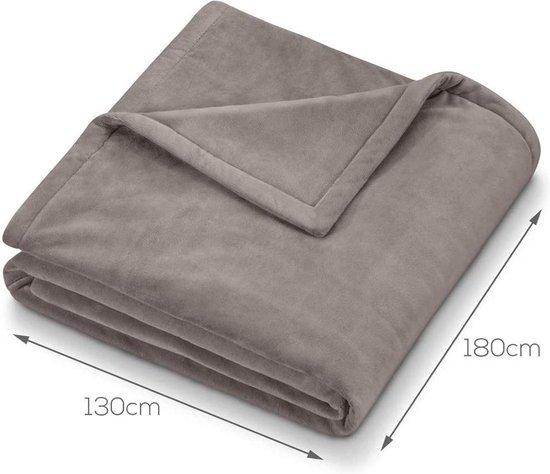 Beurer HD75 Cosy Elektrische Fleece Deken 180x130 cm Taup