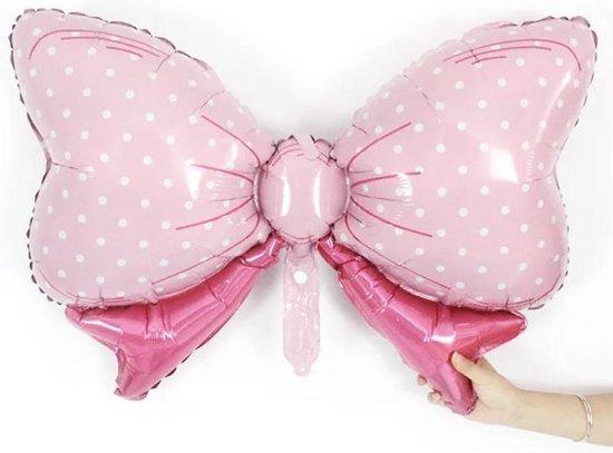 Roze-Strik-Folie-Ballon