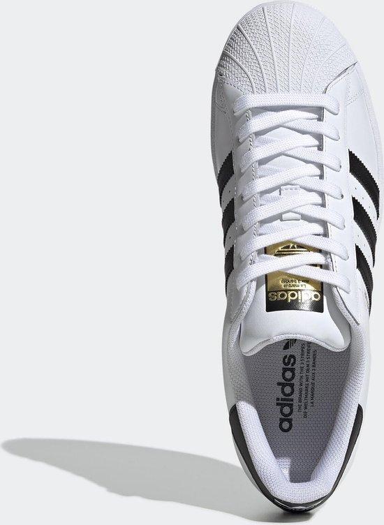 adidas Superstar Heren Sneakers - Cloud White/Core Black/Cloud White - Maat 44