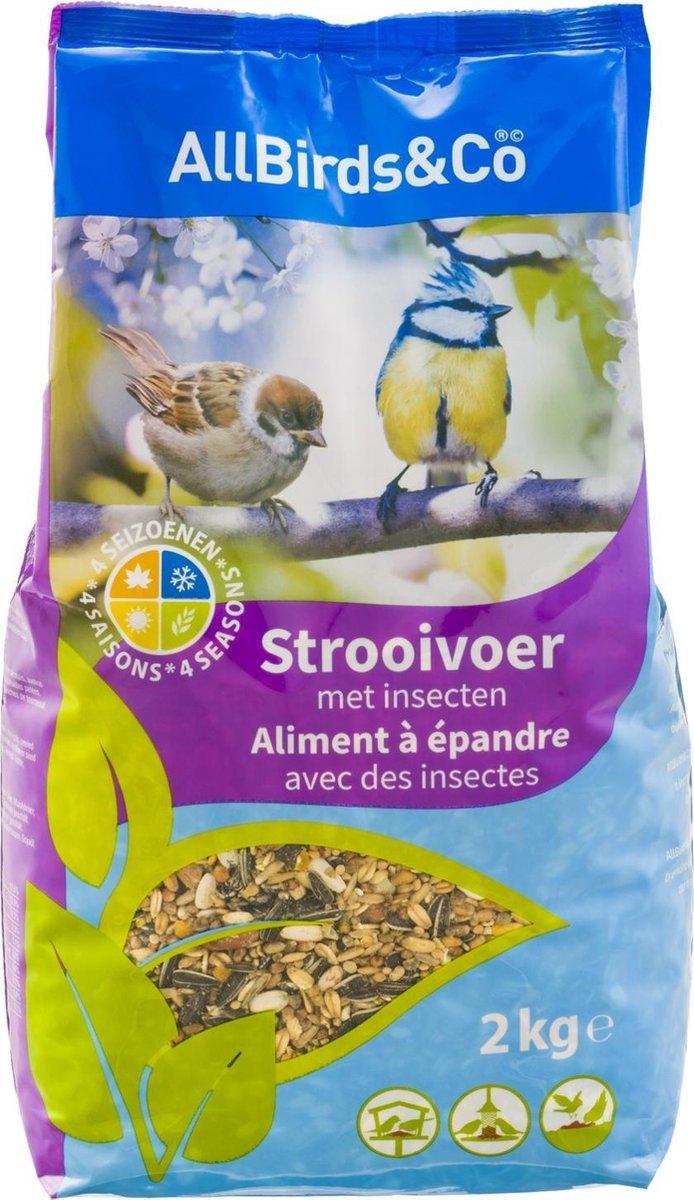 AllBirds & Co Strooivoer - 2 kg