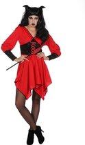 Duivel Kostuum | Heet Als Hel Duivel | Vrouw | Maat 36 | Halloween | Verkleedkleding
