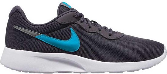 Nike Tanjun Swoosh Heren Sneakers GridironTeal Nebula Gunsmoke Maat 45.5