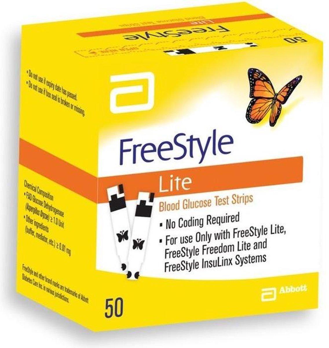 Abbott Freestyle lite strips