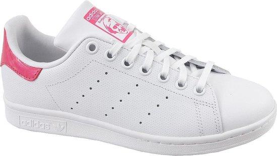 Adidas Jongens Lage sneakers Stan Smith J - Wit - Maat 36⅔