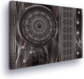 Mandala Canvas Print 100cm x 75cm