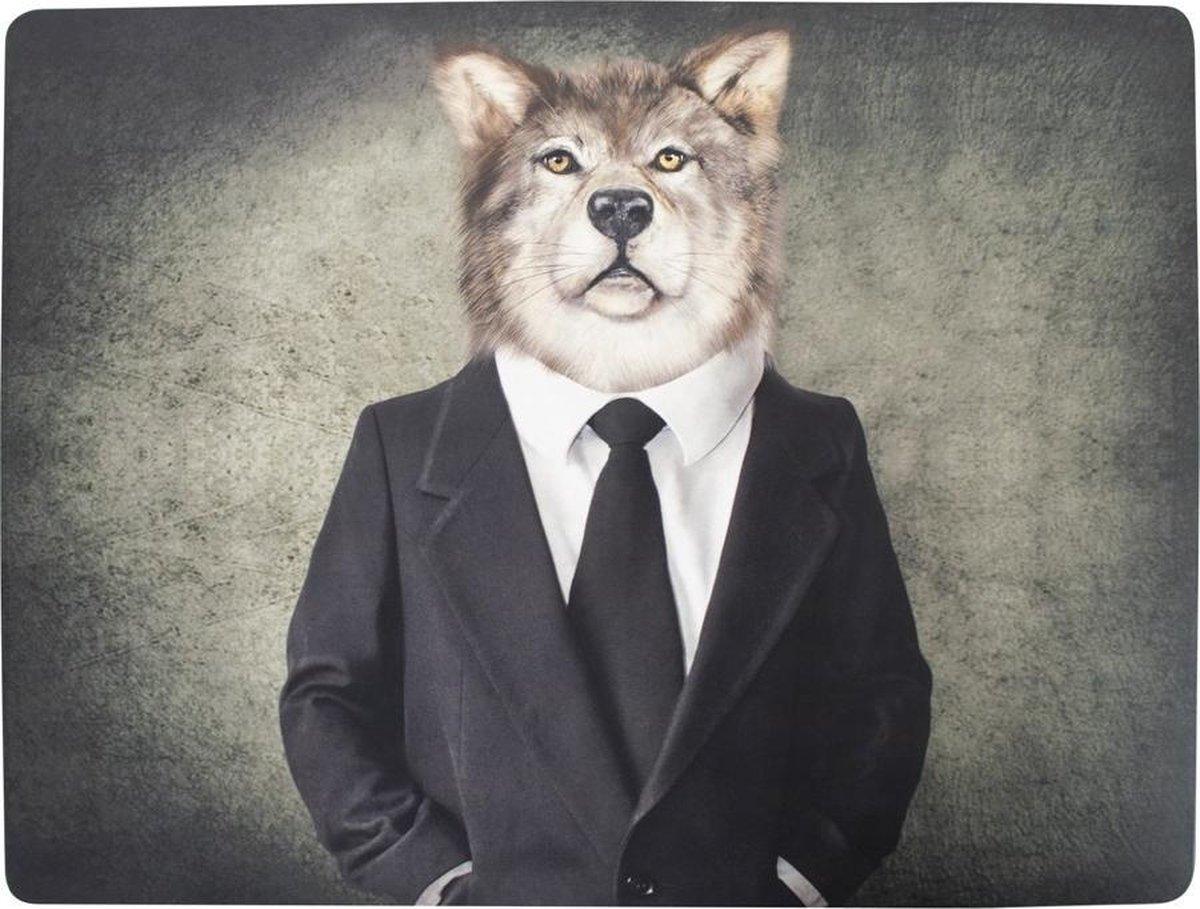 Bol Com Mars More Placemats Mr Wolf Set Van 4