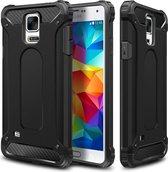 Hybride Samsung Galaxy S5 Hoesje Zwart