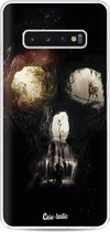 Samsung Galaxy S10 Plus hoesje Cave Skull Casetastic Smartphone Hoesje softcover case