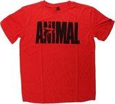 Animal Iconic Shirt Maat L Iconic Red