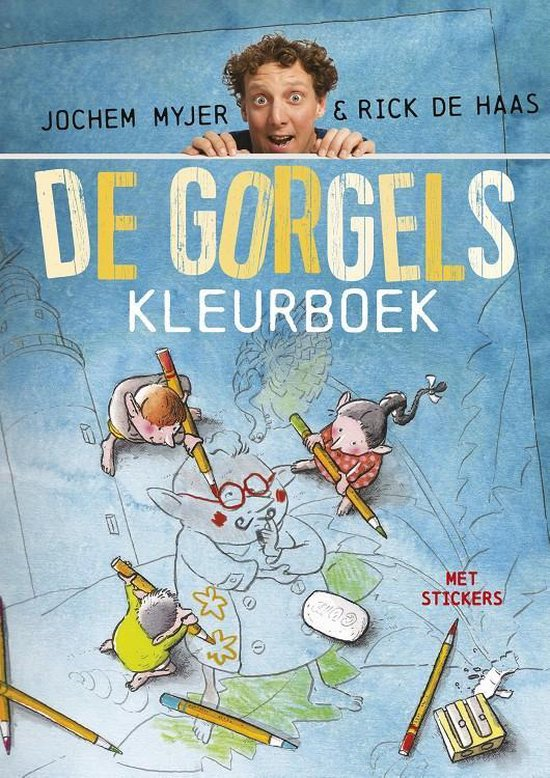Boek cover De Gorgels Kleurboek van Jochem Myjer (Paperback)