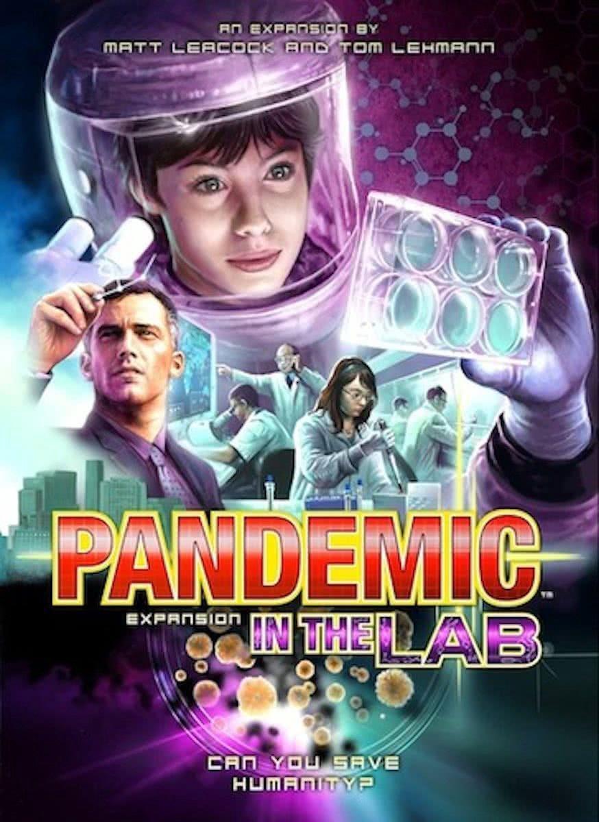 Pandemic In the Lab - Uitbreiding - Engelstalig Bordspel
