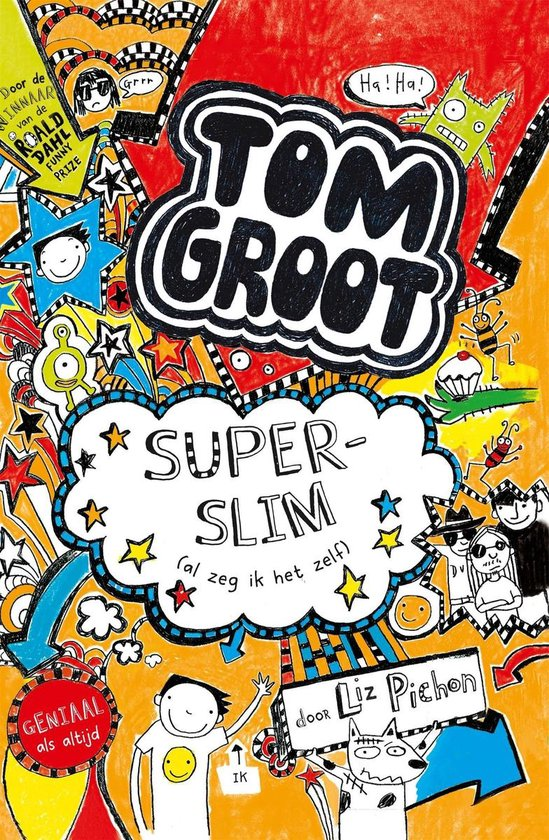 Tom Groot 4 - Superslim - Liz Pichon |