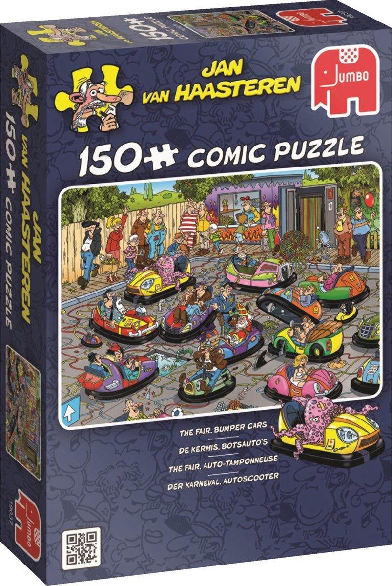Jan van Haasteren De Kermis, Botsauto's puzzel - 150 stukjes