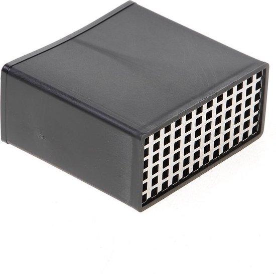 Rooster RVS voor vloerventilatierooster 10.8 x 5 x 10cm