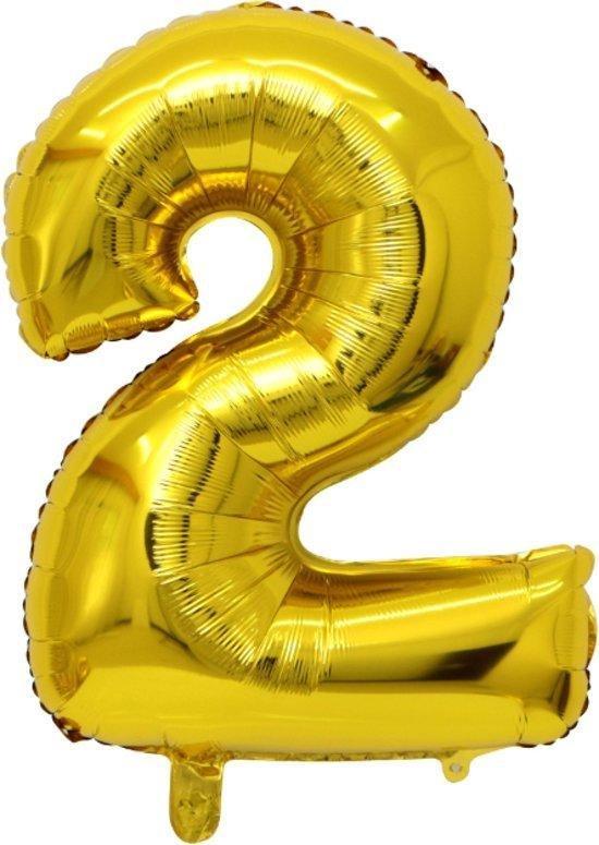 Folie ballon gouden 2