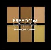 Freedom Pro Conceal & Correct Palette Light/Medium