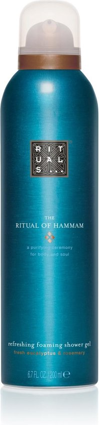 Afbeelding van RITUALS The Ritual of Hammam Foaming Shower Gel - 200 ml