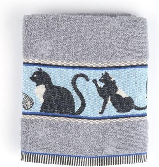 Bunzlau Castle keukendoek Cats Grey