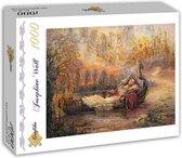 Josephine Wall Dreams of Camelot puzzel 1500 - Multi