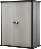Keter  High-Store+ Opbergkast - Grijs  - 140x73,6x170,4cm
