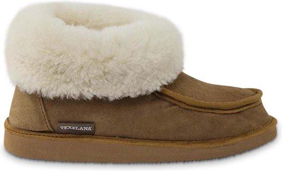 Pantoffel van schapenvacht - model Vera - voor dames & heren - maat 39