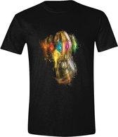 Avengers: Endgame - Thanos Fist Men T-Shirt - Black - L