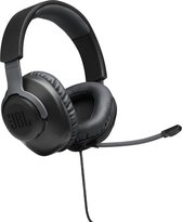 JBL Quantum 100 Zwart Gaming Headphones - Over Ear