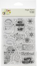 Simple Stories: Say Cheese Christmas Photopolymer Clear Stamps