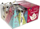 Geschenkdoos Vruchten Thee -  Super Fruit Tea Gift Box - English Tea Shop (12 piramide theezakjes)