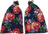 BLOSSOM ROSES Hand warmers.blauw