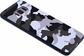 - Samsung Galaxy S8 Plus Luxe Camouflage Back Cover Snow