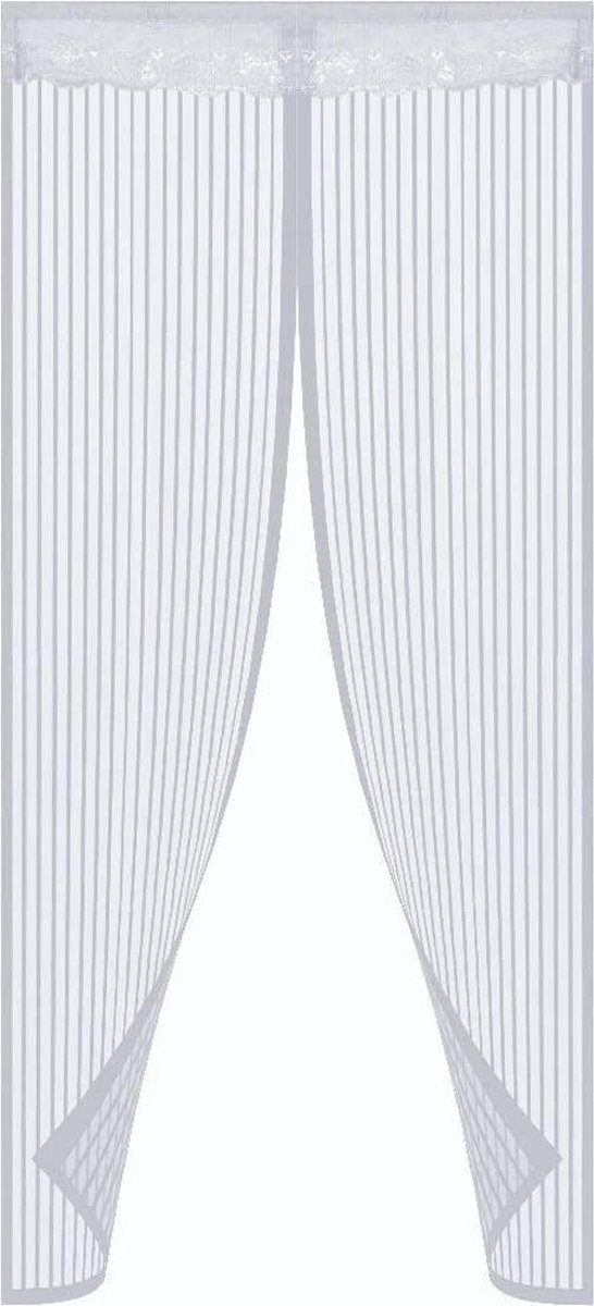 O DADDY vliegengordijn deur magnetisch-100x230 cm - wit