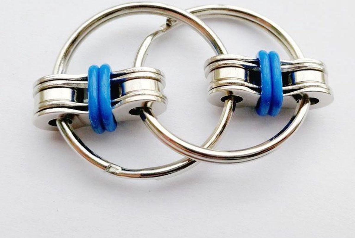 Fidget Sleutelhanger | Friemel Gadget | Fidget Speelgoed | Anti Stress | Stress Ring | Friemel Ring | Fidget Keychain
