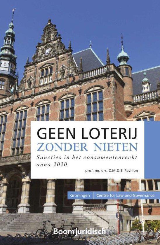 Groningen Centre for Law and Governance - Geen loterij zonder nieten - C.M.D.S. Pavillon |